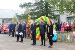 Ученики одиннадцатого «Роснефть-класса» дают наказ первоклассникам / Фото автора