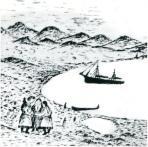 Одна из графических работ Николая Вылки / фото  из фондов окружного музея