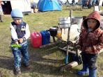 Будни детей оленеводов общины «Канин» / Фото автора