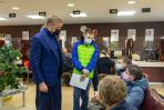 Юрий Бездудный пообщался с посетителями МФЦ / Фото Алексея Орлова