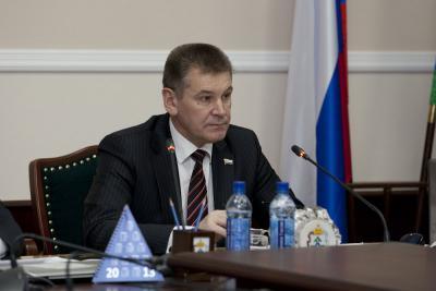 Председатель Собрания депутатов НАО Сергей Коткин (фракция «Единая Россия»)