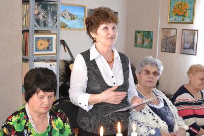 Маргарита Солоницына читает стихотворение Василия Фёдорова