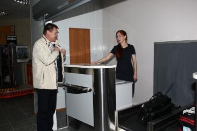 Сенатор Коткин первым опробовал новый терминал