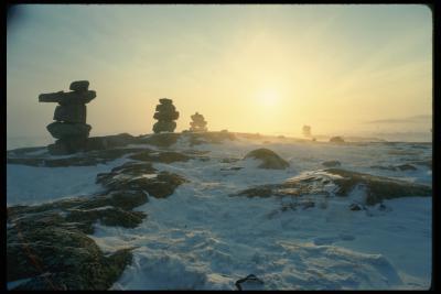 Новоземельские каменные изваяния