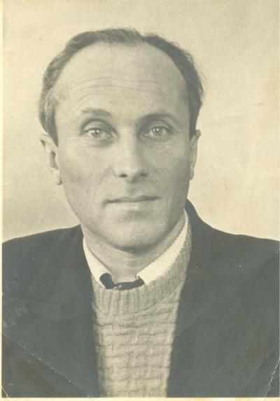 Главный редактор «Няръянки» Валентин Левчаткин. Начало 50-х