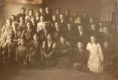 Шойна. Канинская школа.1949 год.