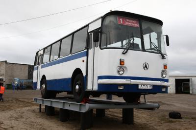 Такие автобусы еще недавно колесили по Нарьян-Мару