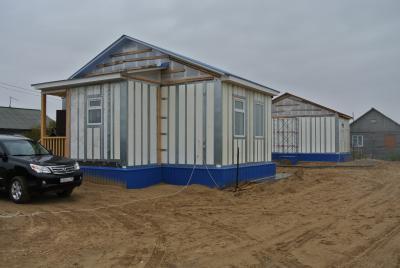 Строители уверяют, что таким домам не страшны заполярные холода