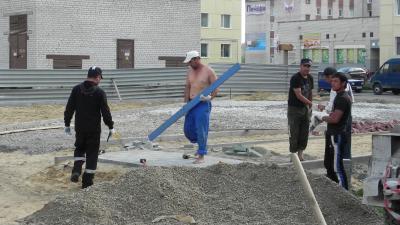 Южане на стройках Заполярья стали для округа привычными
