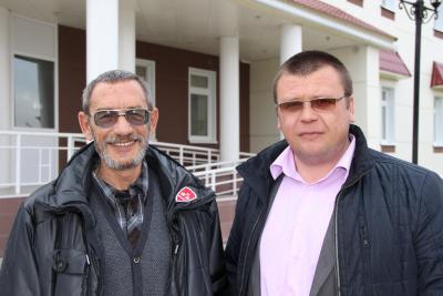 Историки-коллеги – Александр Мурыгин (слева) и Иван Хозяинов