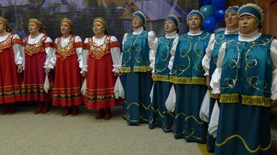 Макаровский хор порадовал гостей