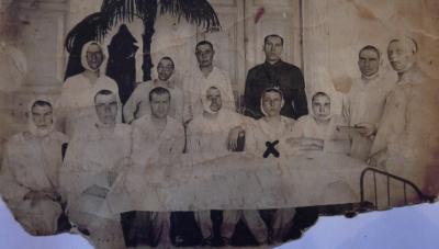 Госпиталь под Ленинградом. Фото из архивов Верхнепешского ДК