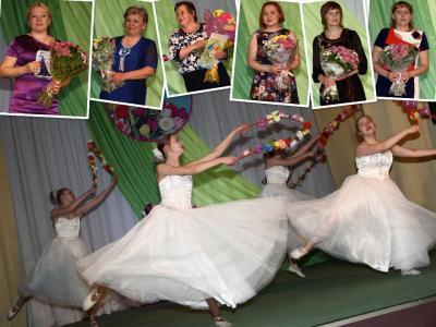 Слева направо:Нина Кудрявцева, Надежда Вокуева, Валентина  Шевелёва,   Алина Кудрявцева, Екатерина  Трошичева, Любовь Рочева