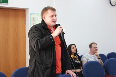 Вадим Безумов задал  не один острый вопрос