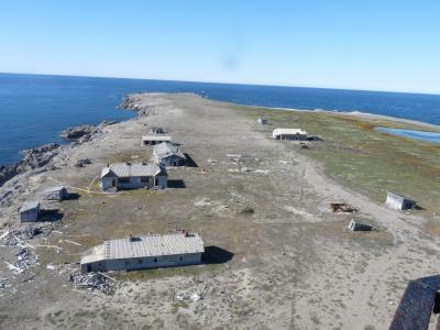 Арктическая инфраструктура нуждается в восстановлении. Полярная станция Меньшикова  на Новой Земле