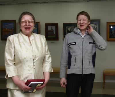 Брат и сестра Надежда и Павел Выучейские –  оба известные художники