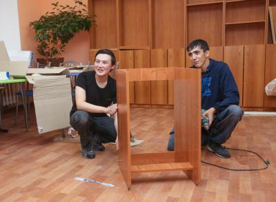 Илья (слева) и Игнат не теряли летом времени даром