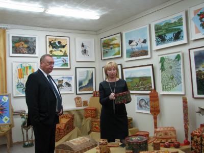 Вадим Тюльпанов посетил музей школы им. А.П. Пырерки