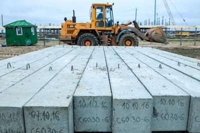 Первая продукция нового завода доставлена на стройку