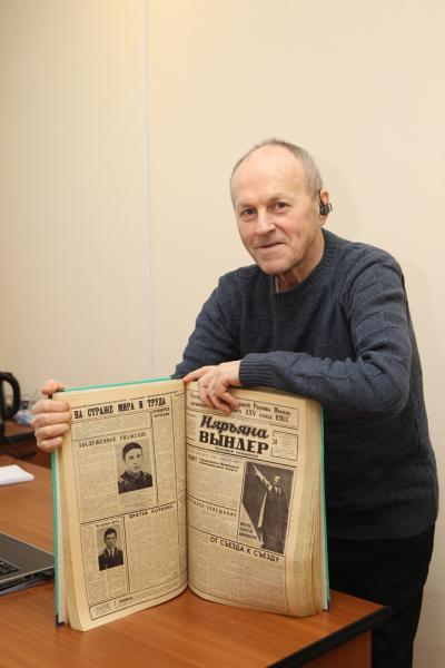 Виктор Субоч второй раз стал героем «НВ»