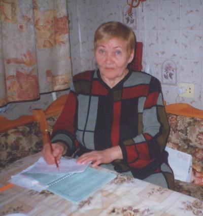 Нина Назаренко живет в Индиге