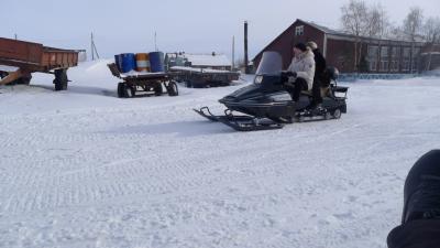 Глава округа проверяет состояние дороги Нижняя Пеша – Волоковая. 2014 год