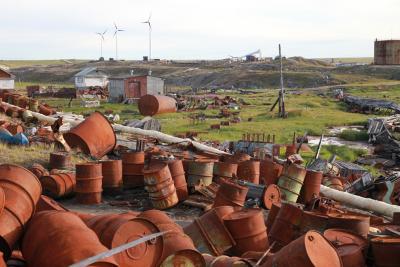 Амдерма уже много лет ждет начала масштабных работ  по экологической очистке