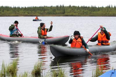 По рекам Ненецкого округа