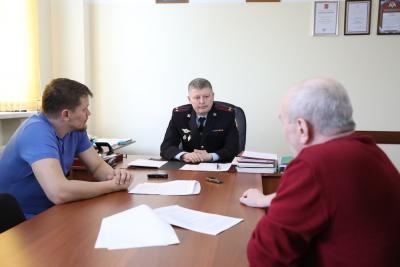 Начальник управления Росгвардии по НАО подчеркнул важность работы со СМИ / Фото Екатерины Шутяк