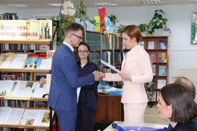 Сертификат об обучении в Институте прикладного права получили 39 студентов / Фото предоставлено пресс-службой аппарата уполномоченных