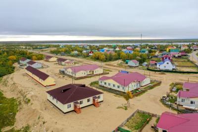 В посёлке Красное тоже новоселья / Фото Алексея Орлова