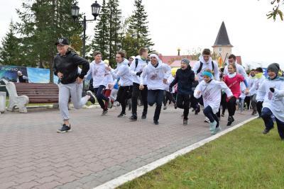Участники забега устремились к финишу / Фото предоставлено Юлией Урбанович