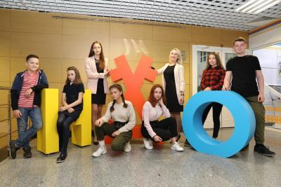 После каникул юнкоры с новыми силами включились в работу клуба / Фото Екатерины Шутяк