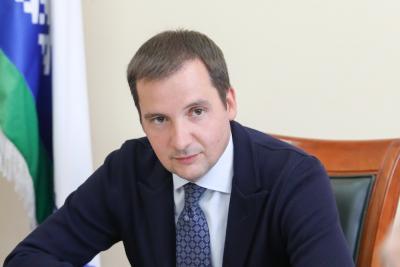 Губернатор НАО Александр Цыбульский / Фото Антона Тайбарея
