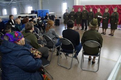 Зрительный зал организован в спорткомплексе «Нюртей» / Фото автора