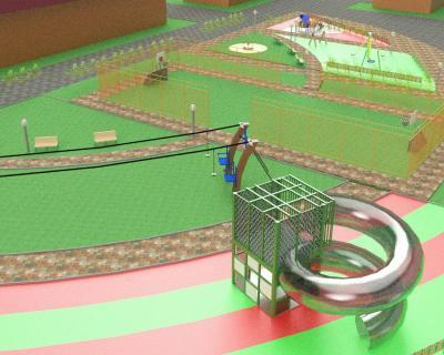 Спортивно-игровой кластер появится в районе домов № 10 и № 11 на улице Строительной. Проектом предлагается создать комфортную спортивно-игровую территорию: обновить и дополнить новыми элементами игровую площадку, зонировать её для детей разного возраста, обустроить спортивную территорию, расширить место под парковку.
