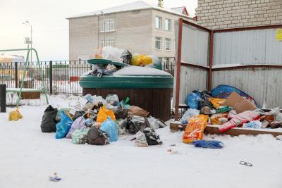 В январе из Нарьян-Мара вывезли более 442 тонн мусора / Фото из архива «НВ»