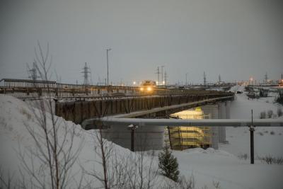 Мост через Колву / фото Алексея Орлова