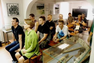 Встреча волонтёров / Фото музея-заповедника «Пустозерск»