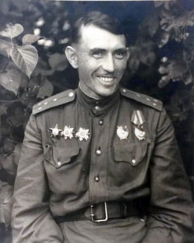 Кибардин Николай Борисович. 1945 г. / Фото предоставлено автором