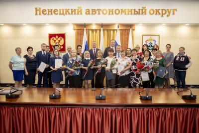 После церемонии вручения наград / Фото Алексея Орлова