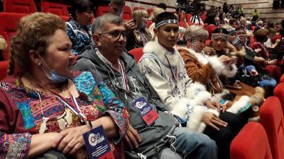 Делегаты юбилейного форума в Москве / Фото автора