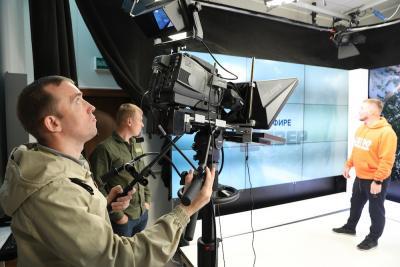 Программы телеканала «Север» теперь выходят в новом качественном цифровом формате / Фото Екатерины Эстер