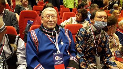 Пётр Ледков – председатель Совета старейшин ассоциации «Ясавэй» / Фото автора