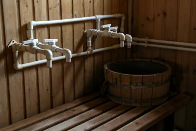 Время сеанса в бане сокращено до одного часа / Фото Екатерины Эстер
