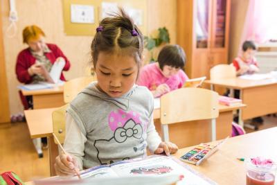 Детский сад сегодня размещён в двух зданиях 1968 и 1975 годов постройки / Фото из архива «НВ»
