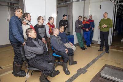 Основная задача тренинга – повысить культуру производства мяса оленины в НАО для выхода на европейский рынок / Фото Алексея Орлова