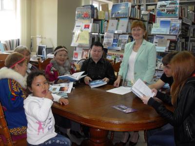 Члены литературно-краеведческого клуба «Толанго книга» / Фото автора
