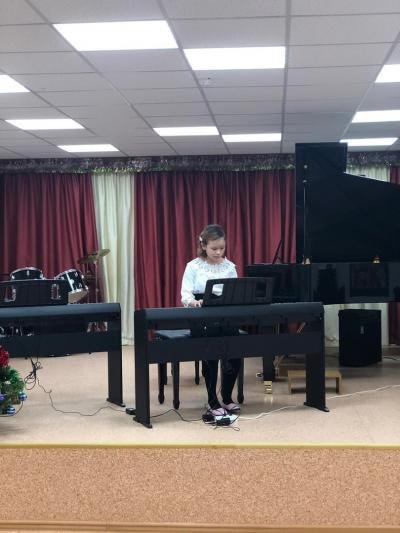 Мария Канюкова, ученица 5-го класса Детской школы исусств НАО / Фото из группы ДШИ НАО в соцсети «Вконтакте»