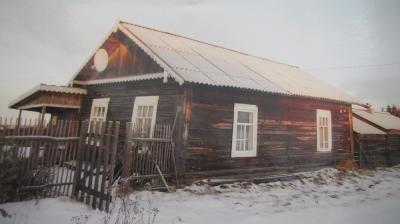 Дом, в котором располагалась изба-читальня, построенный на общественных началах / Фото предоставлено автором